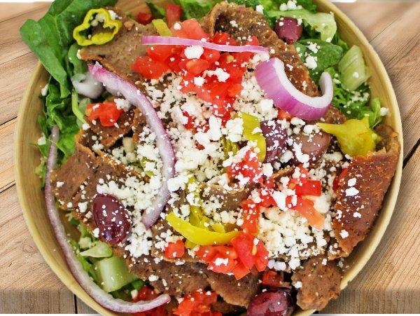 fresh and healthy salad bowl