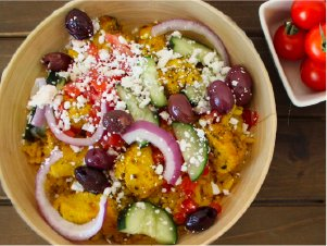 traditional greek bowl