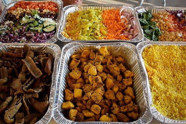 ultimate buffet food items