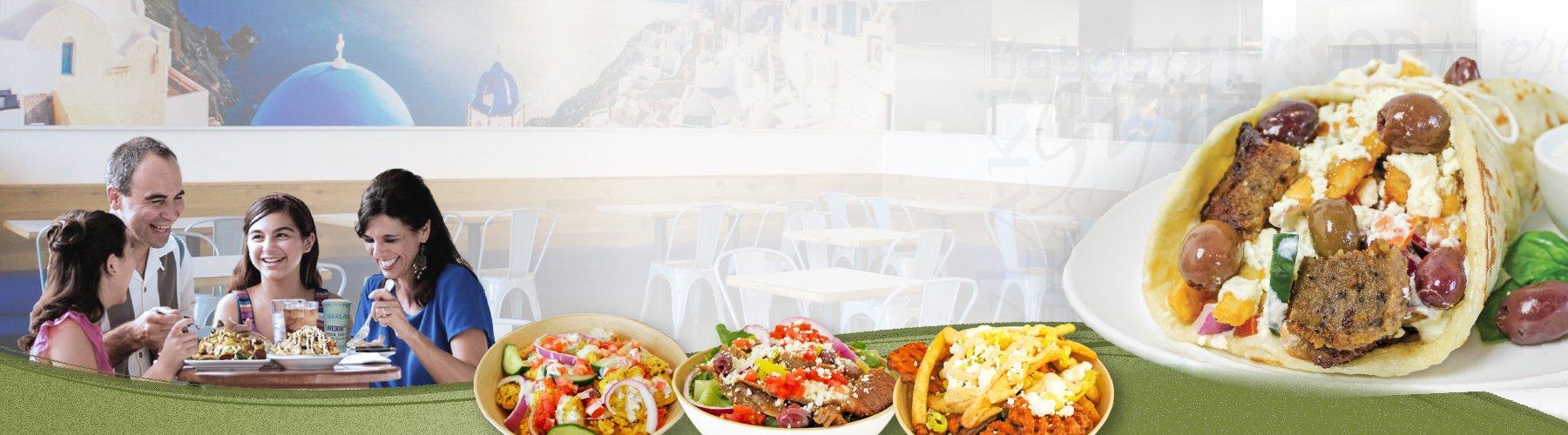 santorinis fast and fresh greek food